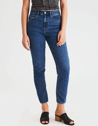 American Eagle mom jeans size 10