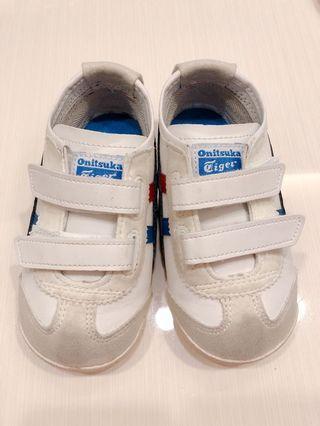 二手童鞋 Onitsuka Tiger 運動鞋 白色 小童步鞋