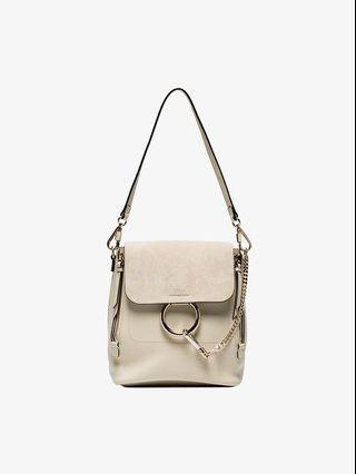 Chloe Faye Backpack #Off White