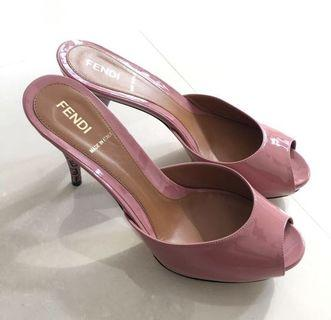 ✨✨Real Fendi Pink Colour Nice Shoes 靚粉色 Size 37.5 (original price HK$5,400)