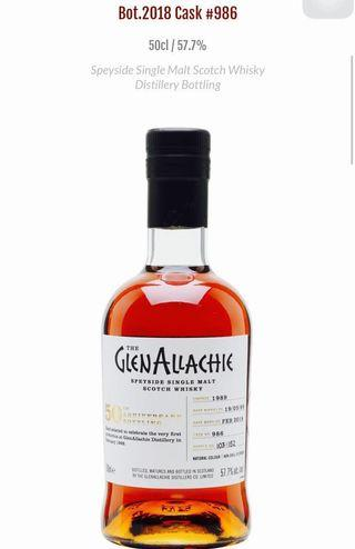 🚚 GlenaLLachie 50 Anniversary bottling Limited edition