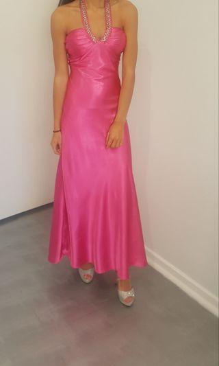 Miss Anne formal hot pink dress size 8