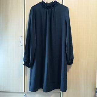 Dorothy Perkins Black Chiffon Dress