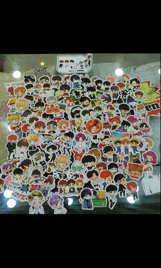 [WTS]BTS 100pcs cartoon stickers
