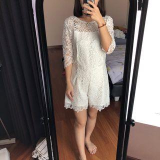 Cloth Inc Lace Jumpsuit size M