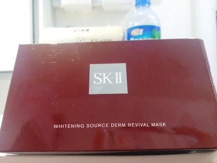 SK-II Whitening Source Derm-Revival Mask 科研緻白深層修護面膜 10片
