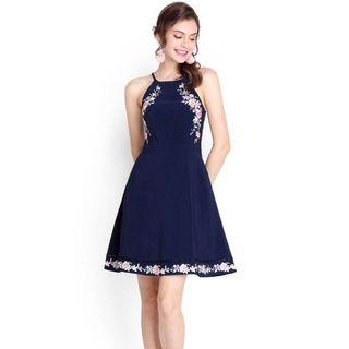 🚚 Lily Pirates Houston Gardens Dress In Navy Blue