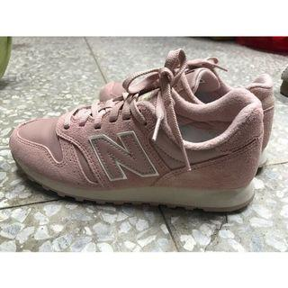 🚚 New balance 373 粉紅 休閒鞋 運動鞋 6號 (近全新)