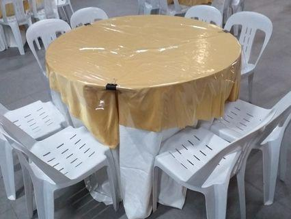 Rent table and chairs for mini event