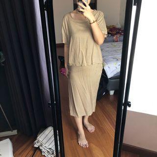 Satu set baju & rok