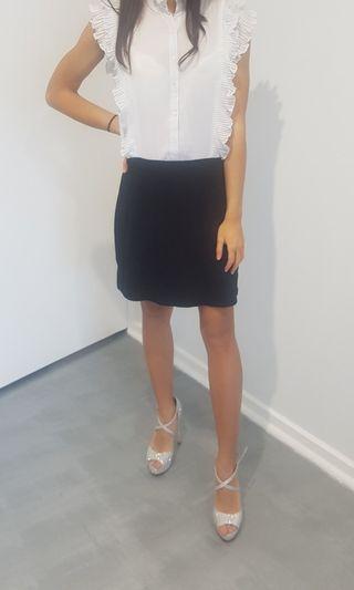 Zara Trafaluc black and white dress size M