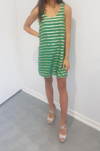 Pilgrim green cocktail dress size 8