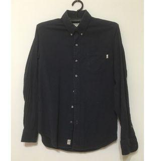 Timberland 男生深藍色襯衫 XS