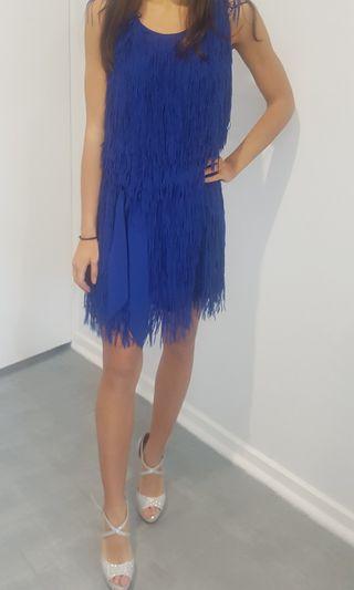 Pilgrim cobalt blue cocktail dress size S
