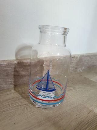 Starbucks Nautical theme Glass Bottle