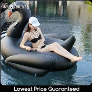Black Swan - Adult Giant Floaties Beach Swimming Pool Float