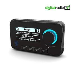🚚 Majority Journey A10 In-Car DAB/DAB+ Digital Radio with Bluetooth Handsfree & Music Streaming, FM Digital Audio Adapter (Includes Fitting Kit, Mounts, Cables & Active Antenna)