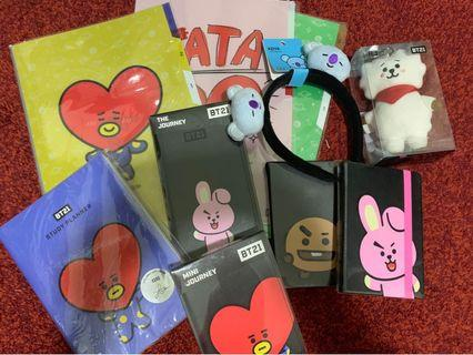 BT21 ready stock to let go.