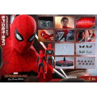 Hottoys spiderman far from home upgraded suit  7/3 單 訂+700
