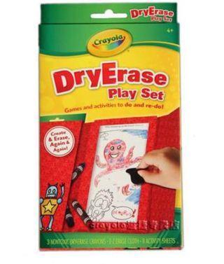 Dry erase play set