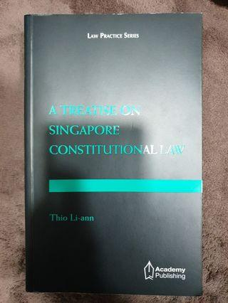 🚚 SUSS LAW321: A Treatise on Singapore Constitutional Law