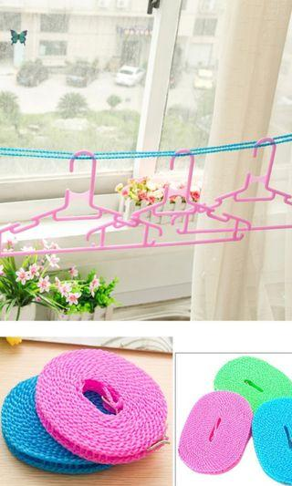 🚚 Outdoor cloth hanging rope