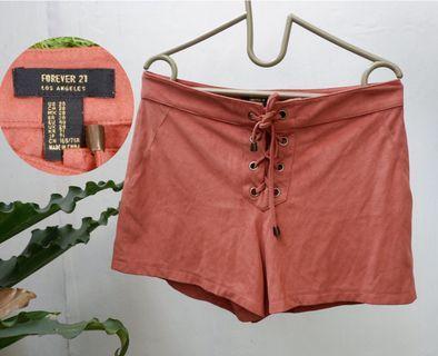 FOREVER 21 Hotpants shorts orange