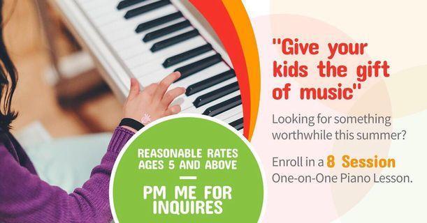 Piano Lesson 🎶