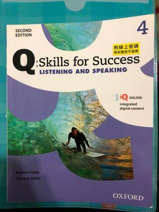 🚚 Skills for success 4 listening and speaking 4