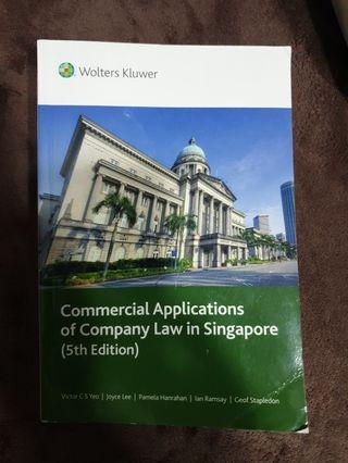SUSS LAW303 textbook: Commercial Applications of Company Law in Singapore