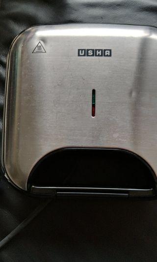 Bread toaster - stainless steel black unused