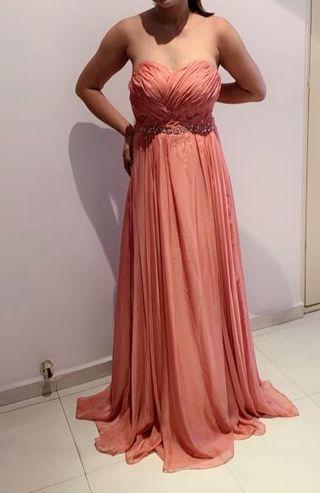 Evening Gown,Evening Dress,Wedding Gown, D&D Dress