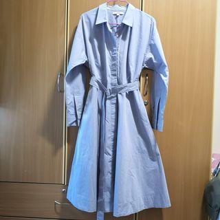 Uniqlo Blue Shirt Dress