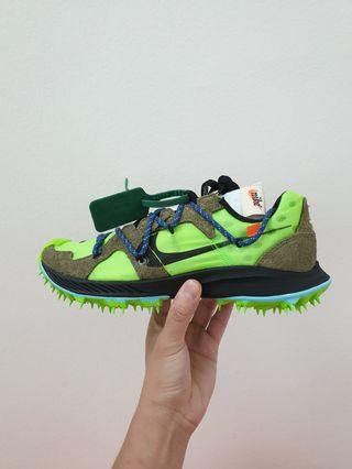 Off-White x Nike Zoom Terra Kiger 5 Green