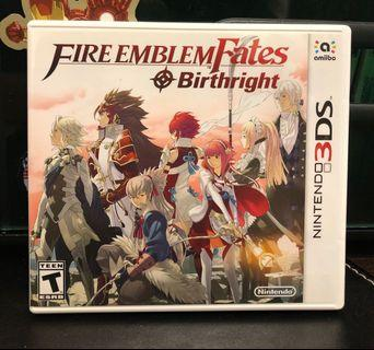 [3DS] Fire Emblem Fates: Birthright - US VERSION (美版)