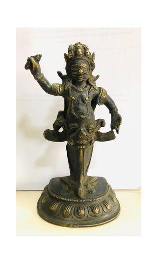 Antique Phurba Mahakala Vajrakila