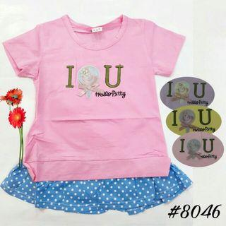 Cute top candy import anak perempuan
