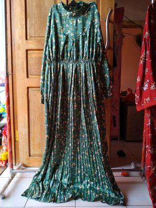 Dress plisket tosca