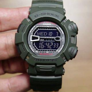 🔴GSS🔴[✅FREE Shipping]: ✅💯Authentic Casio G-Shock Mudman G-9000-3V Watch - Tactical Green