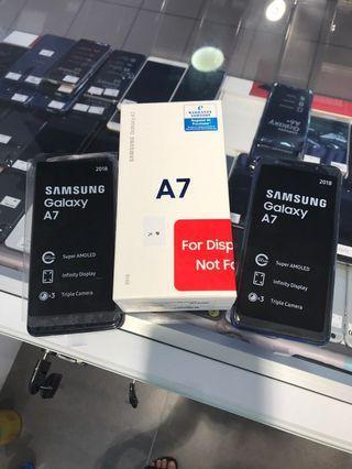 Samsung a7 2018 demo set