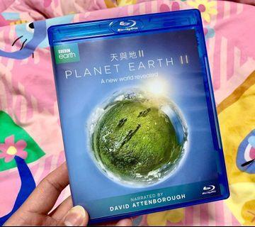 天與地 2 [Planet Earth 2 BLU-RAY] (有粵語配音,中文字幕) 99%新 BBC製作