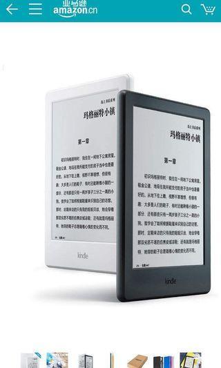Kindle 8 代电子書有藍牙