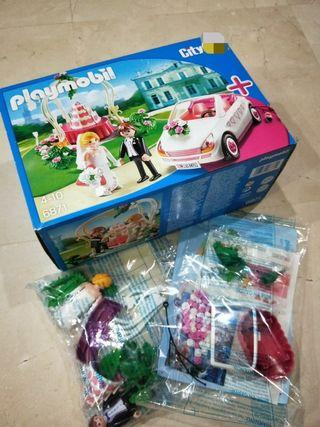 BN Playmobil Wedding set