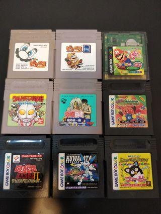 🚚 Game Boy Games Lot #4 🇯🇵