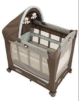 Graco Travel Lite Crib Playpen (Portable/Light Weight/Space Saving)