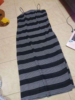 🚚 Editors Market Stripes Midi dress