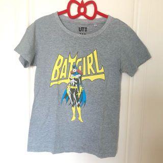 🚚 年中慶特賣 UNIQLO UT DC comics聯名T恤 蝙蝠女個性卡通T BAT GIRL 卡通T 正版授權