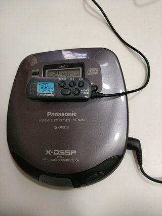 Panasonic SL-S450 正常可用日本製造CD 播放機