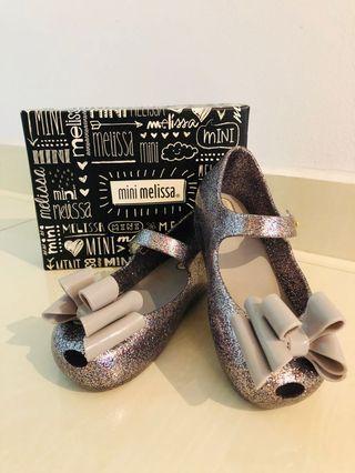 🚚 Mini Melissa Ultragirl Silver Glitter