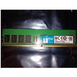 🚚 CRUCIAL 8GB 2133Mhz DDR4 Ram